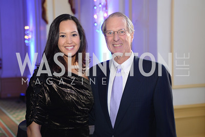 Ahnna Smith, Terry Eakin, III , Teach For America Gala, Omni Shoreham, March 11, 2013, Photo by Ben Droz,