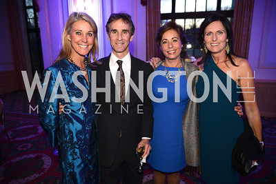 Cindy Steuart, Len Goldman, Lisa DeMarco, Bridgit Fried,  Teach For America Gala, Omni Shoreham, March 11, 2013, Photo by Ben Droz,