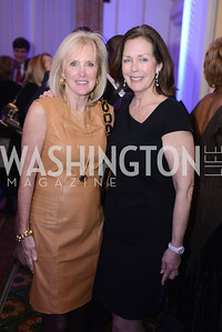 Laurie Monahan, Ginger Pape, Teach For America Gala, Omni Shoreham, March 11, 2013, Photo by Ben Droz,