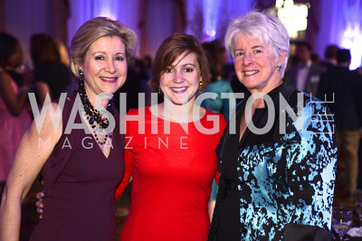 Christie Weiss, Teddy Weiss, Edie Tatel, Teach For America Gala, Omni Shoreham, March 11, 2013, Photo by Ben Droz,
