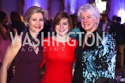 Christie Weiss, Teddy Weiss, Edie Tatel, Teach For America Gala, Omni Shoreham, March 11, 2013, Photo by Ben Droz,
