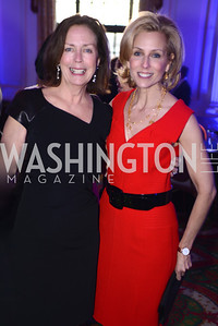 Ginger Pape, Katherine Bradley, Teach For America Gala, Omni Shoreham, March 11, 2013, Photo by Ben Droz,