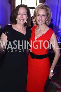 Ginger Pape, Katherine Bradley, Teach For America Gala, Omni Shoreham, March 11, 2013, Photo by Ben Droz,