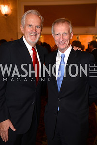Jack Davies, Jack Evans,  Teach For America Gala, Omni Shoreham, March 11, 2013, Photo by Ben Droz,
