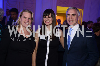 Cathy Merrill Williams, Ashlyn Ramos, Paul Williams, Teach For America Gala, Omni Shoreham, March 11, 2013, Photo by Ben Droz,