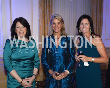Joey Sloter, Cindy Steuart, Bridgit Fried, Teach For America Gala, Omni Shoreham, March 11, 2013, Photo by Ben Droz,