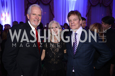 Jack Davies, Wilie Lewis, Stewart Bainum, Teach For America Gala, Omni Shoreham, March 11, 2013, Photo by Ben Droz,