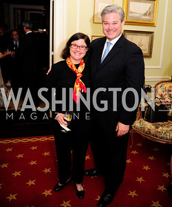 Judy Bishop ,Mark Lowham,February 11,2013,Teach for America Cocktails and Conversation,Kyle Samperton