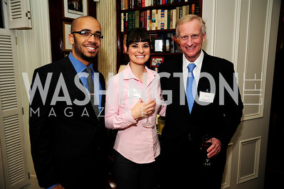 Clint Smith,Ashlyn Ramos,Jack Evans,February 11,2013,Teach for America Cocktails and Conversation,Kyle Samperton