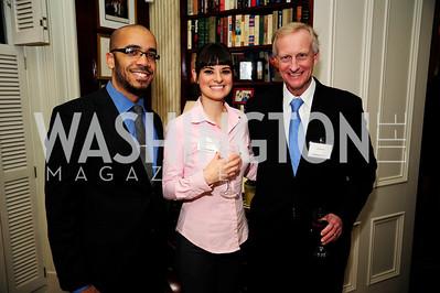 Clint Smith,Ashlyn Ramos,Jack Evans,February 11,2013,Teach for America Cocktails and Conversation,Kyle Samperton