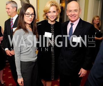 Stacey Pavesi Debre,Katherine Bradley, David Lawson,February 11,2013,Teach for America Cocktails and Conversation,Kyle Samperton