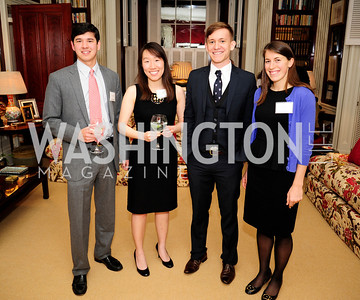 Scott Bowman,Yi Zhang,Rob Yates,Claire Haiter,February 11,2013,Teach for America Cocktails and Conversation,Kyle Samperton