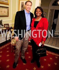 Josh Green,Monica Moore Thompson,February 11,2013,Teach for America Cocktails and Conversation,Kyle Samperton