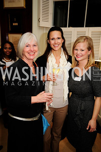 Cheryl Newman,Kelly Cardamone,Lindy Newton Gallagher,February 11,2013,Teach for America Cocktails and Conversation,Kyle Samperton