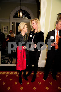 Christie Weiss,Carol Funger,February 11,2013,Teach for America Cocktails and Conversation,Kyle Samperton