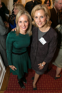 Deborah Lehr, Katherine Bradley. Photo by Alfredo Flores. Teach for America Gala Cocktail Event. The home of Deborah Lehr and John Rogers. November 13, 2013.