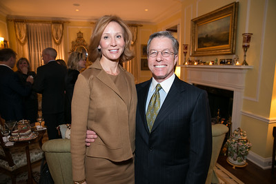 Anne Jacobski, Bryan Jacobski. Photo by Alfredo Flores. Teach for America Gala Cocktail Event. The home of Deborah Lehr and John Rogers. November 13, 2013.