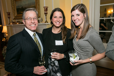 Bryan Jacobski. Luci Cambria, Coury Shadyac. Photo by Alfredo Flores. Teach for America Gala Cocktail Event. The home of Deborah Lehr and John Rogers. November 13, 2013.
