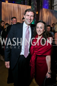 Jeremy Leffler, Sabrina Spitaletta. Photo by Tony Powell. WL The Children's Inn at NIH 25th Annual Congressional Gala. Mellon Auditorium, October 1, 2013