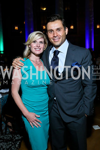 Elisabeth Oplinger, Antonio Alves. Photo by Tony Powell. WL The Children's Inn at NIH 25th Annual Congressional Gala. Mellon Auditorium, October 1, 2013