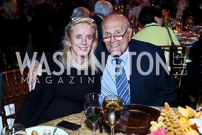 Debbie and Rep. John Dingell. Photo by Tony Powell. WL The Children's Inn at NIH 25th Annual Congressional Gala. Mellon Auditorium, October 1, 2013