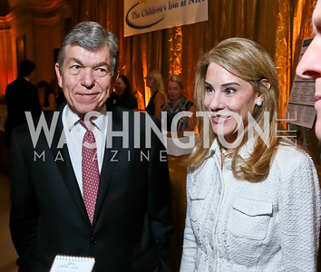 Sen. Roy and Abigail Blunt. Photo by Tony Powell. WL The Children's Inn at NIH 25th Annual Congressional Gala.JPG