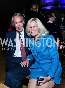 Sen. Ed Markey and Dr. Susan Blumenthal. Photo by Tony Powell. WL The Children's Inn at NIH 25th Annual Congressional Gala. Mellon Auditorium, October 1, 2013
