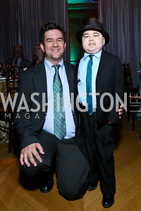 Lothar and Keller Lai. Photo by Tony Powell. WL The Children's Inn at NIH 25th Annual Congressional Gala. Mellon Auditorium, October 1, 2013