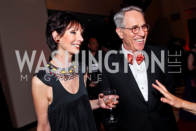 Liz Friedman and Judge Paul Friedman. Photo by Tony Powell. 2013 Helen Hayes Awards. Warner Theater. April 8, 2013
