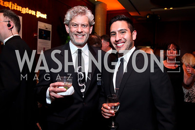 Serge Seiden, Jecamiah Ybanez. Photo by Tony Powell. 2013 Helen Hayes Awards. Warner Theater. April 8, 2013