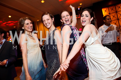 Angela Pirco, Anne Haney, Rebecca Speas, Sarah Taurchini. Photo by Tony Powell. 2013 Helen Hayes Awards. Warner Theater. April 8, 2013