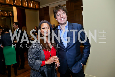 Actree-Singer-Dancer Debbie Allen, Violinist Joshua Bell. Photo by Tony Powell. 2013 Kennedy Center Honors George Stevens Brunch. Mandarin Oriental. December 8, 2013