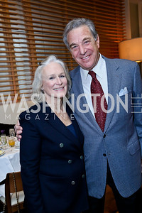 Actress Glenn Close, Paul Pelosi. Photo by Tony Powell. 2013 Kennedy Center Honors George Stevens Brunch. Mandarin Oriental. December 8, 2013