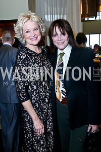 Christine Ebersol, Michelle Lee. Photo by Tony Powell. 2013 Kennedy Center Honors George Stevens Brunch. Mandarin Oriental. December 8, 2013