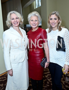 Sally Quinn, Jane and Justine Harman. Photo by Tony Powell. 2013 Kennedy Center Honors George Stevens Brunch. Mandarin Oriental. December 8, 2013