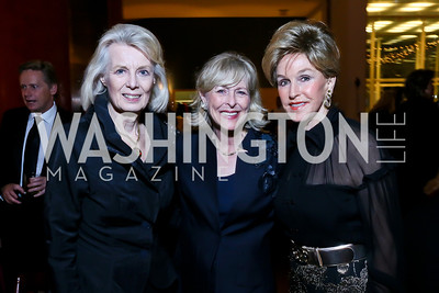 Karna Bodman, Lynda Webster, Diane Moss. Photo by Tony Powell. The 2013 Points of Light Tribute Awards. Italian Embassy. October 11, 2013