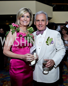 Sue and Joe Palka. Photo by Tony Powell. 2013 RAMMY Awards. Marriott Wardman Park. June 23, 2013