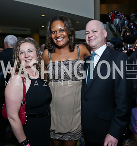 Zafra Stork, Chinyere Hubbard, Clark Manley. Photo by Tony Powell. 2013 RAMMY Awards. Marriott Wardman Park. June 23, 2013
