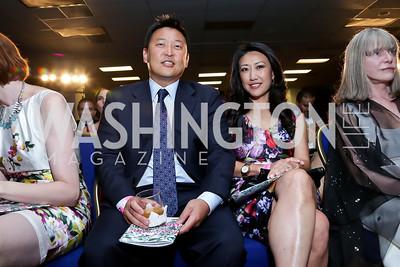 Rob and Eun Yang. Photo by Tony Powell. 2013 RAMMY Awards. Marriott Wardman Park. June 23, 2013