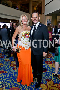 Maria and Fabio Trabocchi. Photo by Tony Powell. 2013 RAMMY Awards. Marriott Wardman Park. June 23, 2013