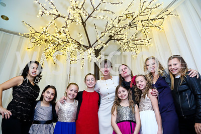 Michelle Freeman and friends. Photo by Tony Powell. The 2013 Washington Ballet Nutcracker Tea. Willard Hotel. December 15, 2013
