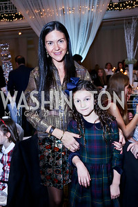Carolina and Fiona DeSouza. Photo by Tony Powell. The 2013 Washington Ballet Nutcracker Tea. Willard Hotel. December 15, 2013