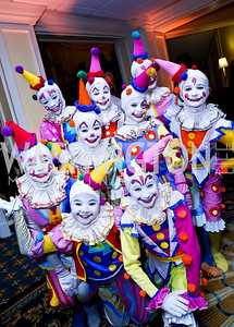 The Clowns. Photo by Tony Powell. The 2013 Washington Ballet Nutcracker Tea. Willard Hotel. December 15, 2013