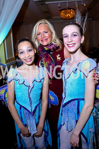 Deborah Sigmund and dancers. Photo by Tony Powell. The 2013 Washington Ballet Nutcracker Tea. Willard Hotel. December 15, 2013