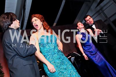 Domingo-Cafritz Young Artists. Photo by Tony Powell. 2013 Opera Ball. Villa Firenze. April 6, 2013