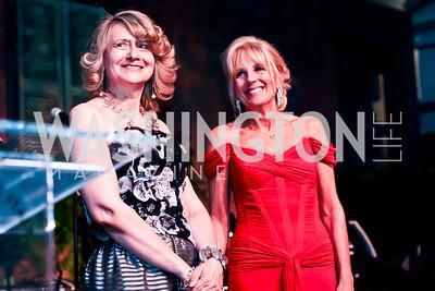 Laura Denise Bisogniero, Dr. Jill Biden. Photo by Tony Powell. 2013 Opera Ball. Villa Firenze. April 6, 2013