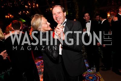 Jill Udall and Senator Tom Udall. Photo by Tony Powell. 2013 Opera Ball. Villa Firenze. April 6, 2013