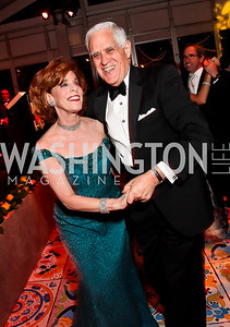 Patricia Sagon and Chuck Miller. Photo by Tony Powell. 2013 Opera Ball. Villa Firenze. April 6, 2013
