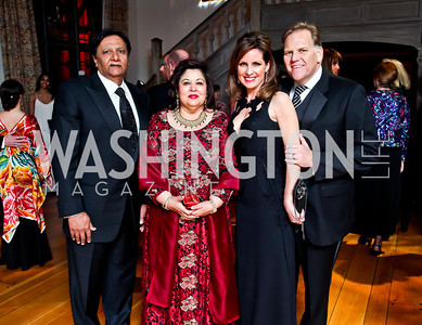 Ray and Shaista Mahmood, Kristi Rogers and Rep. Mike Rogers. Photo by Tony Powell. 2013 Opera Ball. Villa Firenze. April 6, 2013