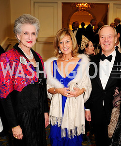 Countess Suzanne Tolstoy,Yvonne Thunnel,Lars Thunnel,January 11,2013,The 43rd Russian  New Year's Eve Gala,Kyle Samperton